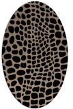 rug #341910   oval animal rug
