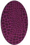 rug #341964 | oval animal rug