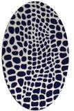 rug #342140 | oval animal rug