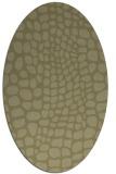 rug #342221   oval light-green rug