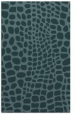 rug #342321 |  blue-green animal rug