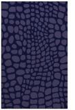 rug #342333 |  blue-violet animal rug
