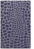 rug #342337 |  blue-violet animal rug