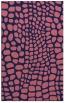 rug #342341 |  blue-violet popular rug