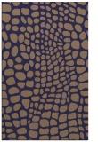 rug #342357    blue-violet animal rug