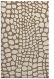 rug #342401 |  mid-brown animal rug