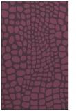 rug #342473 |  purple popular rug
