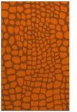 rug #342513 |  red-orange popular rug