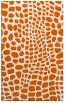 rug #342517 |  red-orange animal rug