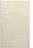 rug #342541    yellow popular rug