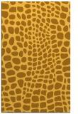 rug #342553 |  light-orange popular rug