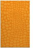 rug #342593    light-orange animal rug