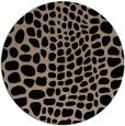 rug #342614 | round animal rug