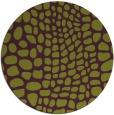 rug #342829 | round purple animal rug