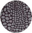 rug #342837   round purple animal rug
