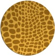 rug #342905 | round light-orange animal rug