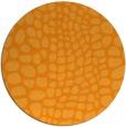 rug #342945   round light-orange animal rug