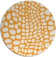 rug #342949 | round light-orange animal rug