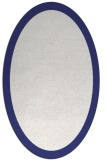 rug #343937 | oval blue borders rug