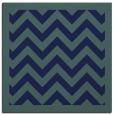 rug #353897 | square blue borders rug