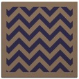 rug #353973 | square beige borders rug