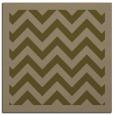 rug #353985 | square brown retro rug