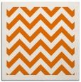 rug #354057 | square orange retro rug