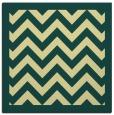 rug #354069 | square yellow borders rug