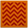 rug #354109   square orange borders rug