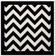 rug #354137 | square white stripes rug