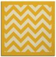 rug #354153   square yellow borders rug