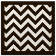 rug #354161   square brown borders rug