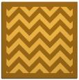 rug #354169 | square yellow borders rug