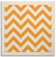 rug #354213 | square light-orange stripes rug