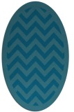 rug #354272 | oval stripes rug