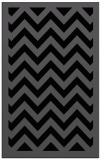 rug #354577 |  black borders rug