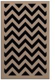 rug #354581    black stripes rug