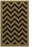 rug #354589 |  black stripes rug