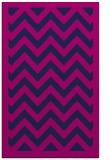rug #354597 |  pink stripes rug