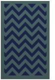 rug #354601 |  blue borders rug