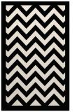 rug #354645 |  blue-green retro rug