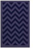 rug #354653 |  blue-violet borders rug