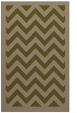 rug #354689 |  brown stripes rug