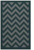 rug #354697 |  blue-green retro rug