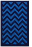 rug #354737    blue stripes rug