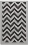 rug #354769 |  orange retro rug