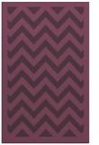 rug #354793 |  purple borders rug
