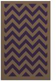 rug #354801 |  purple retro rug