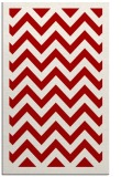 rug #354809    red borders rug