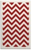 rug #354817 |  red retro rug